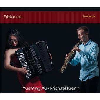 Distance : Œuvres pour saxophone et accordéon