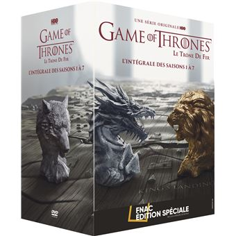 Game Of Thrones Integrale Des Saisons 1 A 7 Edition Speciale Fnac Dvd
