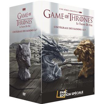 Le trône de ferGame of Thrones Intégrale des saisons 1 à 7 Edition spéciale Fnac DVD