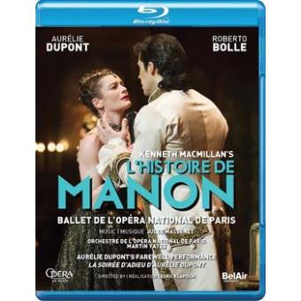 L'Histoire de Manon Blu-ray