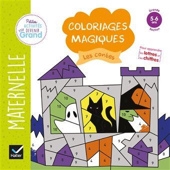 Coloriages Magiques Les Contes Gs Broche Florence