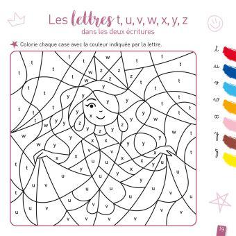 Coloriage Magique Alphabet Majuscule.Coloriage Imprimable Coloriage Magique Gs Lettre Coloriage A