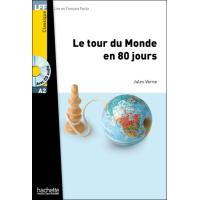 Le Tour du monde en 80 jours + CD audio MP3 (A2)