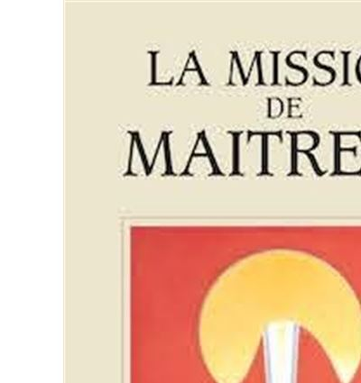 Mission de Maitreya
