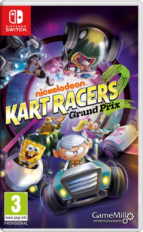 Nickelodeon Kart Racers 2 Grand Prix Nintendo Switch