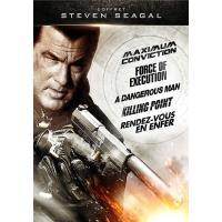Coffret Steven Seagal DVD