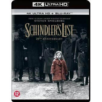 SCHINDLER'S LIST (25TH ANNIVERSARY)-BIL-BLURAY 4K