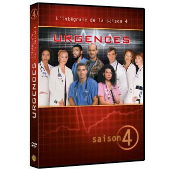 UrgencesUrgences Coffret intégral de la Saison 4 - DVD