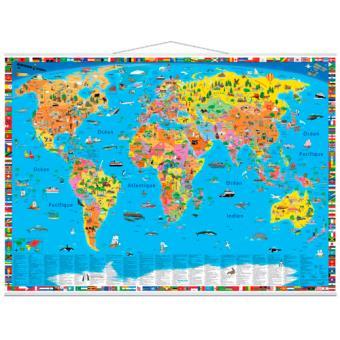 carte du monde politique pour enfants collectif achat livre fnac. Black Bedroom Furniture Sets. Home Design Ideas