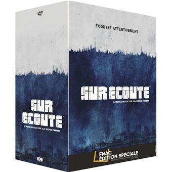 Sur écouteSur écoute L'intégrale de la série The Wire Edition spéciale Fnac DVD
