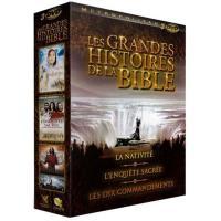 Coffret Les grandes histoires de la Bible 3 films Edition limitée DVD