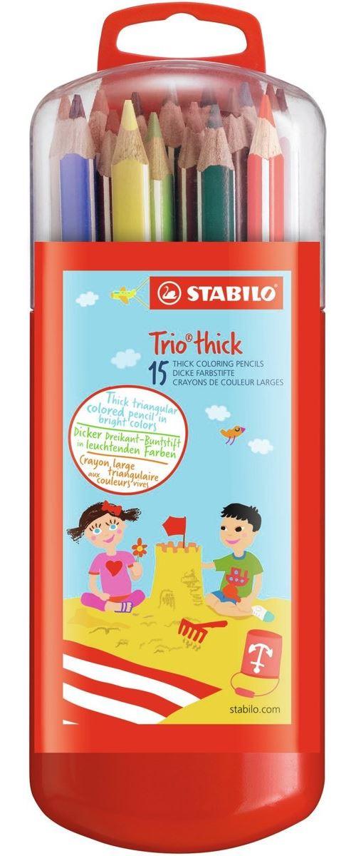 TRIO BOX 15 PCS