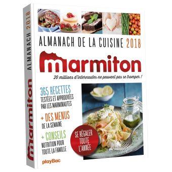 Almanach 2018 Marmiton Broche Collectif Achat Livre Fnac