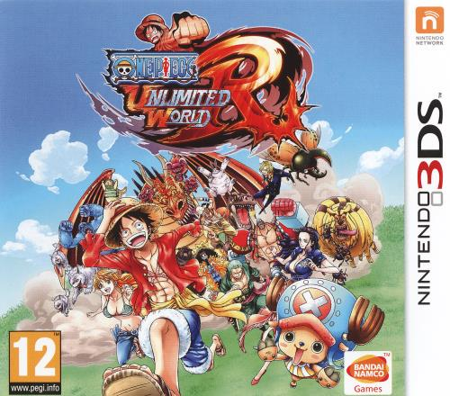 One Piece Unlimited World Red Reassort 3DS - Nintendo 3DS