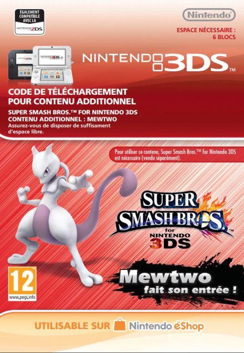 Code de téléchargement Super Smash Bros. Mewtwo fait son entrée ! Nintendo 3DS