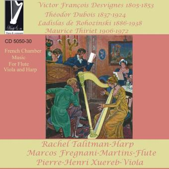 French chamber music for flute and harp