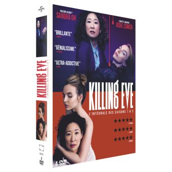 Killing EveCoffret Killing Eve Saisons 1 et 2 DVD