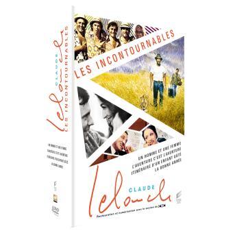 Coffret Les Incontournables Claude Lelouch DVD