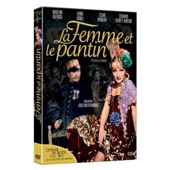 La femme et le pantin DVD