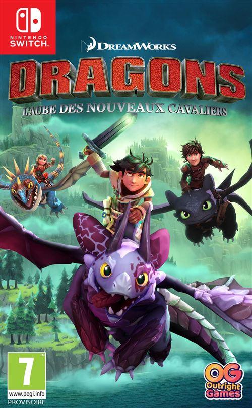 Dragons L'aube des nouveaux cavaliers Nintendo Switch