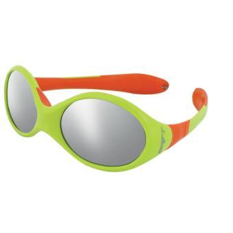 lunettes de soleil enfant julbo looping 1 verte et orange lunettes equipements sportifs fnac. Black Bedroom Furniture Sets. Home Design Ideas