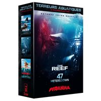 Coffret Terreurs aquatiques 3 films DVD