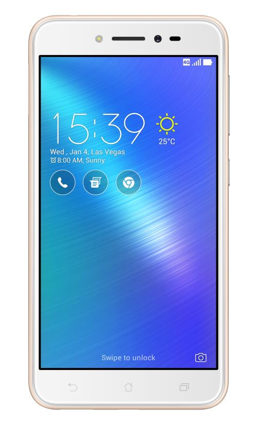 Smartphone Asus ZenFone Live Double SIM 16 Go Or