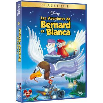 Bernard et BiancaLes Aventures de Bernard et Bianca DVD