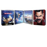 Sonic le film Steelbook Edition Spéciale Fnac Blu-ray 4K Ultra HD
