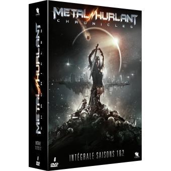 Metal Hurlant ChroniclesCoffret Metal Hurlant Chronicles Saisons 1 et 2 Edition limitée DVD