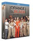 Orange Is the New Black - Intégrale saisons 1 à 4 [Blu-ray + Copie digitale] (Blu-Ray)