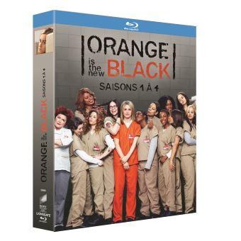 Orange is the New BlackOrange is the New Black Saisons 1 à 4 Blu-ray
