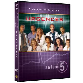 UrgencesUrgences Coffret intégral de la Saison 5 - DVD