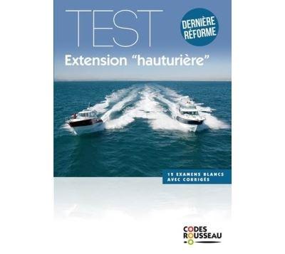 Code Rousseau test extension hauturière 2019