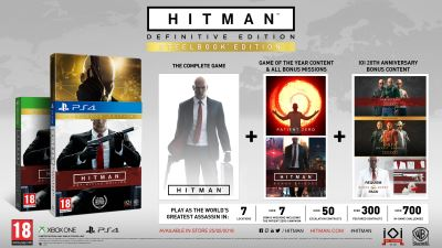 Hitman Definitive Edition Day One Xbox One