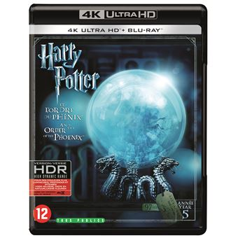 Harry PotterHARRY POTTER 5: AND THE ORDER OF THE PHOENIX-BLURAY4K-BIL