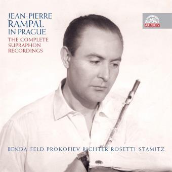 Jean-Pierre Rampal à Prague : Les enregistrements Supraphon