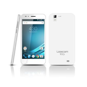 Smartphone Logicom L-ite 504 HD 8 Go Blanc