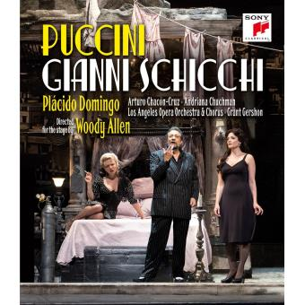 Gianni Schicchi Los Angeles 2015 DVD