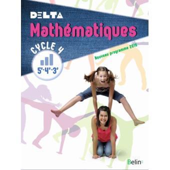 Delta Maths Cycle 4 : 5ème, 4ème, 3ème