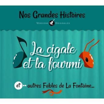 La cigale et la fourmi et autres Fables de La Fontaine...