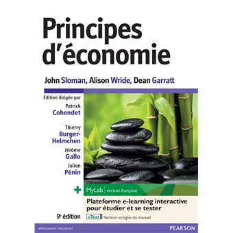 Principes D Economie