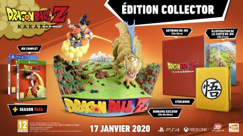 Dragon Ball Z Kakarot Edition Collector Xbox One