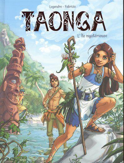 Taonga - tome 1 L'île mystérieuse
