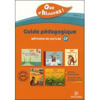 Que d'histoires cp serie 2 guide pedagogique avec cd audio inclus