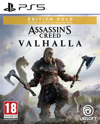 Assassin's Creed Valhalla Gold Edition PS5