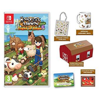 HARVEST MOON LIGHT OF HOPE COLL. EDITION MIX SWITCH