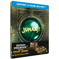 Jumanji bienvenue dans la jungle/jumanji/steelbook