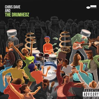 CHRIS DAVE AND THE DRUMHED/LP