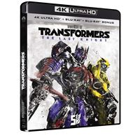 Transformers 5: The Last Knight Blu-ray 4K Ultra HD